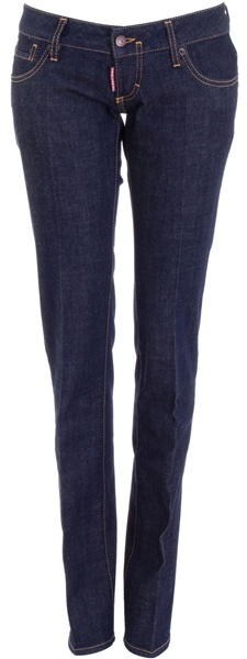 DSQUARED2 - Dark straight leg jeans