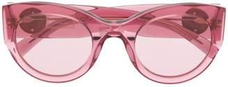 Versace Eyewear oval sunglasses