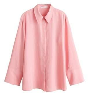 MANGO Oversize soft shirt