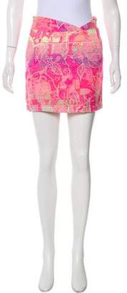Rory Beca Jacquard Mini Skirt w/ Tags