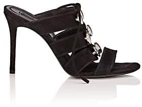 Alexander Wang Women's Allegra Suede Mules - Black