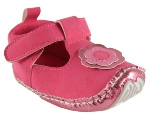 Baby Vision Luvable Friends Mary Jane Dress Up Shoes,0-18 Months