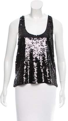 Mes Demoiselles Sequin Sleeveless Top