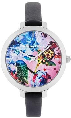 Christian Lacroix Women's Flower Zone Quartz Watch, 38mm