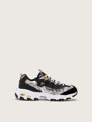 Wide Width D'Lites, Runway Ready Casual Sneakers - Skechers