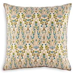 "John Robshaw Lina Peacock Decorative Pillow, 20"" x 20"""