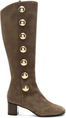 Chloé Suede Orlando Knee High Boots