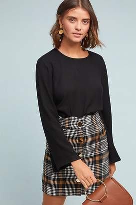 Cloth & Stone Bell-Sleeved Top