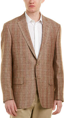 Hart Schaffner Marx New York Modern Fit Linen Sport Coat