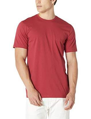 Isle Bay Linens Men's 100% Cotton Standard-Fit Short Sleeve Crewneck T-Shirt