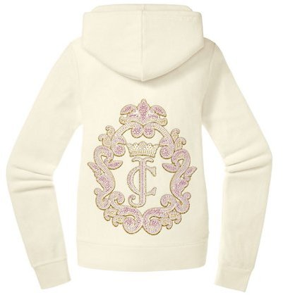 Juicy Couture Original Jacket in Crown Cameo Velour