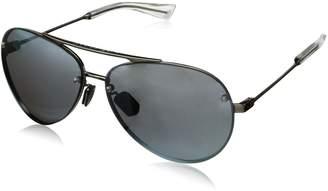 Under Armour UA Getaway M Aviator Sunglasses, UA Getaway M Gloss Rose Gold/Clear / Pink Mirror, M