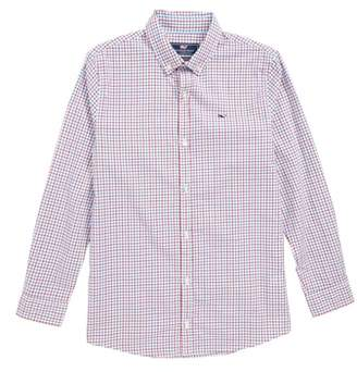 Vineyard Vines Clark Cove Check Whale Shirt
