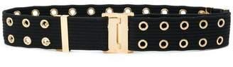 Gucci eyelet-embellished belt