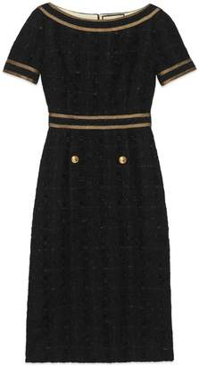 Gucci Tweed dress with decorative trim