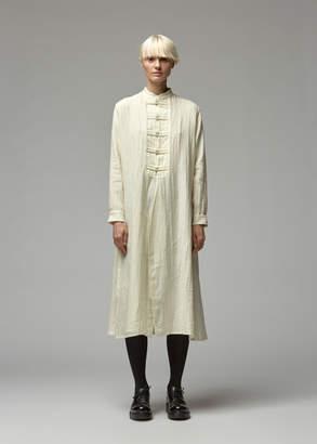Yohji Yamamoto Y's By China Button Mao Dress
