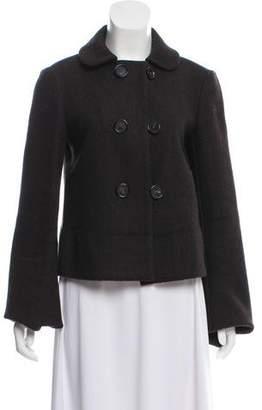 Bottega Veneta Wool & Angora-Blend Coat