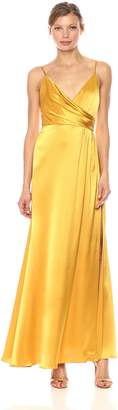 Jill Stuart Women's Satin Wrap Slip Dress
