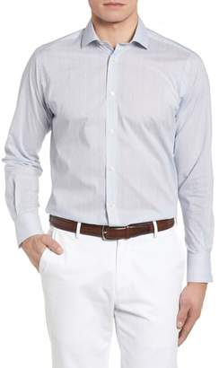 Thomas Dean Microprint Sport Shirt