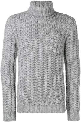 Tod's roll neck knit jumper