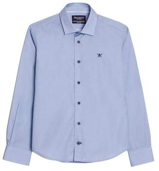 Hackett Mini Diamond Print Cotton Shirt