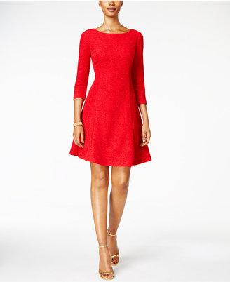 Jessica Howard Glitter A-line Dress $109 thestylecure.com