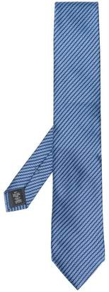 Ermenegildo Zegna striped pattern tie