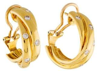 Cartier Diamond Trinity Earrings
