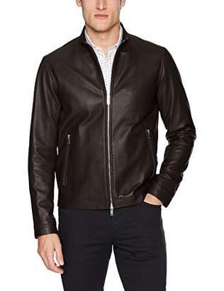 Theory Men's Morvek Leather Jacket