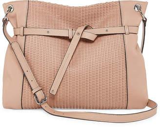 Perlina Shine Ii Leather Crossbody Bag