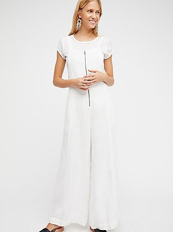 New You Wide Leg One Piece by Free People