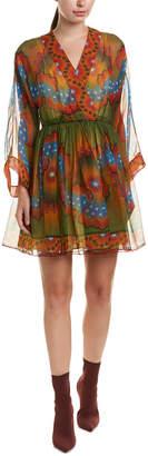 Valentino Chiffon Silk Mini Dress