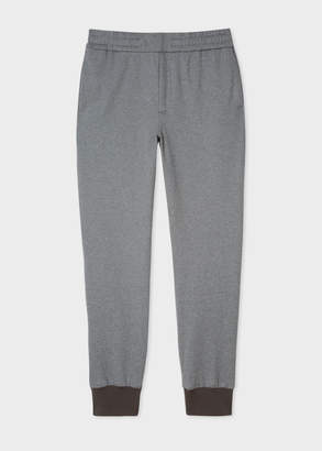 Paul Smith Men's Grey Cotton-Blend Jersey Sweatpants
