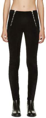 Alexander Wang Velveteen Stretch Leggings