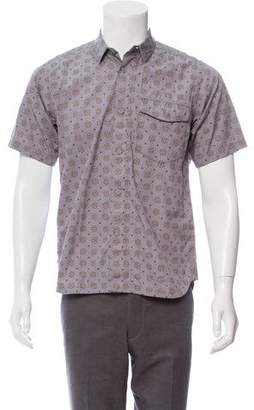 White Mountaineering Mosaic Button-Up Shirt w/ Tags