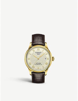Tissot T006.407.36.263.00 Le Locle gold-plated watch