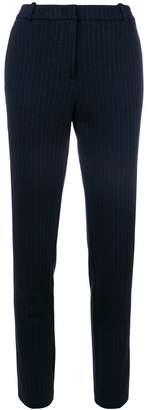 Kiltie pinstripe trousers