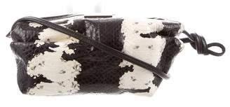 Tamara Mellon Elaphe Snakeskin Crossbody Bag