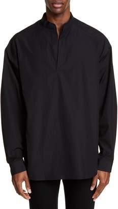 Juun.J Mandarin Collar Shirt