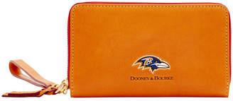 Dooney & Bourke Baltimore Ravens Florentine Zip Around Wallet