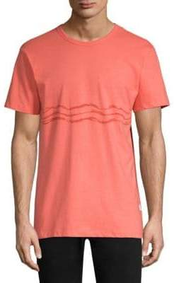 Onia Painted Waves Johnny Graphic Tee