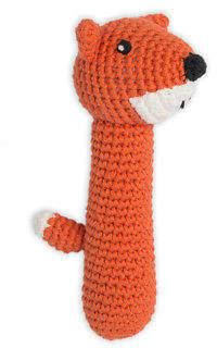 NEW Weegoamigo Crochet Rattle - Fierce Fox by The Little Linen Company