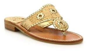 Jack Rogers Napa Valley Cork& Leather Sandals