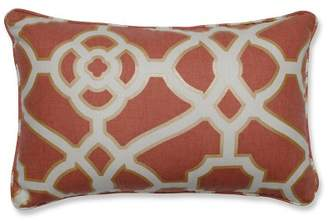 Pillow Perfect Burnished Tile Throw Pillow