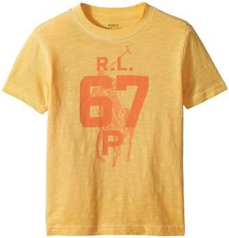 Polo Ralph Lauren Cotton Jersey Graphic T-Shirt Boy's T Shirt