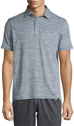 Hawke & Co Men's High-Rise Short-Sleeve Polo