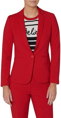 Red Suit Jacket