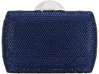 Nina PACEY Navy Bead Bag