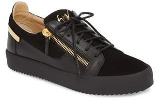 Giuseppe Zanotti Zip Low Top Sneaker