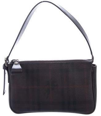 Burberry Smoked Check Mini Handle Bag